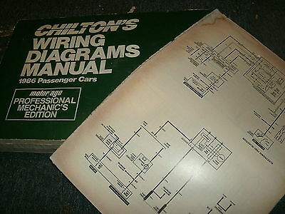 1986 Pontiac Fiero Wiring Diagrams Schematics Manual Sheets Set Ebay