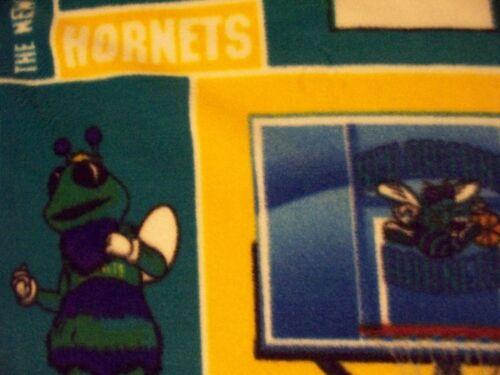 Hornets Nueva Orleans NBA baloncesto con licencia de tela polar fuera de la impresión