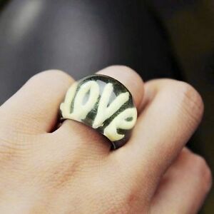 Vintage-antique-retro-style-love-ring-multiple-choices-sizes