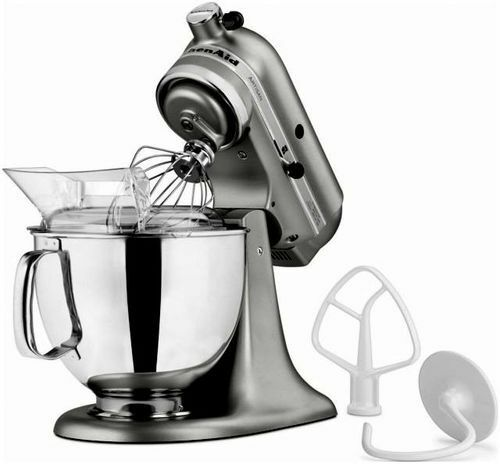 Kitchenaid Artisan Stand Mixer Liquid Graphite Ksm150psqg 325 Watts