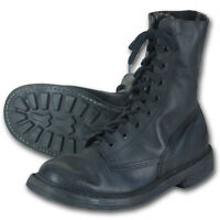 BELGIAN MILITARY PARA BOOTS PARATROOPER BOOT VINTAGE ARMY SURPLUS GRADE 1