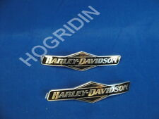OEM HARLEY DAVIDSON FUEL GAS TANK EMBLEMS EMBLEM BADGES TOURING DYNA SOFTAIL