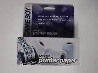 Vintage Nintendo Game Boy Color Printer Paper Cib In Box