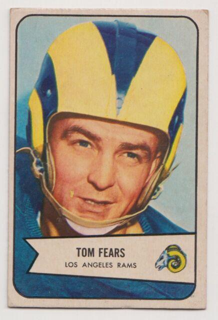 1954 Bowman ~ #20 TOM FEARS Los Angeles Rams  ~ Original Football Card