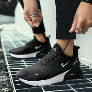 Men-039-s-Air-Cushion-270-Flyknit-Athletic-Sneakers-Casual-Sports-Running-Mesh-Shoes