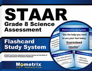 STAAR Grade 8 Science Assessment Flashcard Study System ...