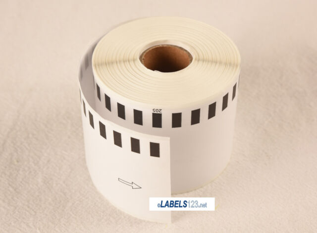 10PK Compatible Brother DK-2205 Continuous Length Paper Tape Labels... BETCKEY