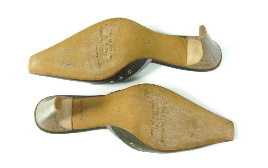 Donald J Pliner Mules Slide Heels Schuhes Größe 7.5