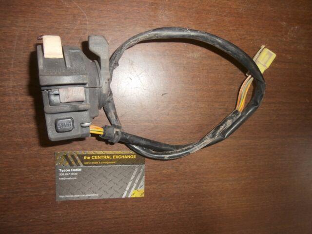 00 Arctic Cat 500 4x4 Auto ATV LH Handlebar Start Choke Light Button Switch  Run