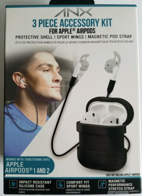 Anx 3 Pieces Accessory Kit For Apple Airpods 1 And 2 For Sale Online Ebay