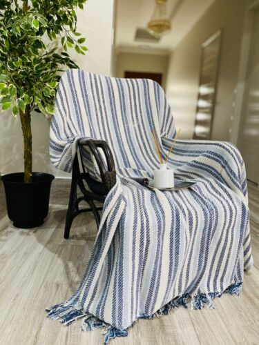 Cotton Blanket Knitted Throw Bed Sofa Rug Home Decor New