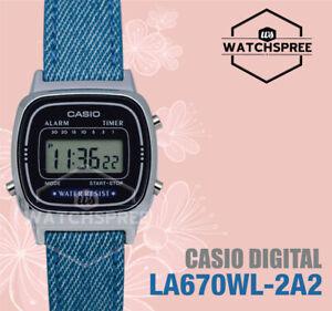 e12adfc6ce09 Image is loading Casio-Ladies-039-Standard-Digital-Watch-LA670WL-2A2-