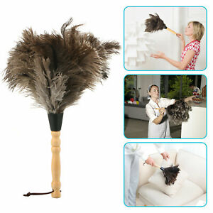 13inch-Ostrich-Feather-Duster-Durable-Dust-Collecting-Cleaning-Tool-In-Wool-Shop