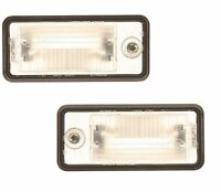 Audi A3 A5 Quattro 03-13 Set Of Left And Right License Plate Light Genuine