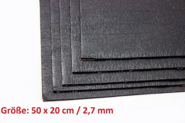 Anti Dröhn Matte Bitumen 50x20cm 2,7mm 5 / 11 / 20 / 25 und 50 St. PKW Auto ADM