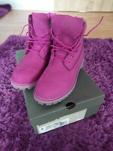 Details zu Timberland Boots Damen Pink 39 Neuwertig