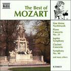 The Best of Mozart (CD, Oct-1997, Naxos (Distributor))