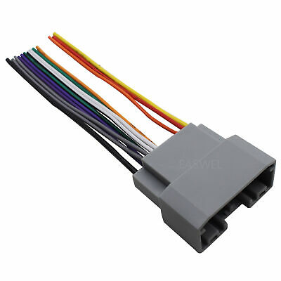 car stereo cd player radio wiring harness for chrysler sebring 2007 2010 ebay 2007 Chrysler Sebring Wiring Harness guide to car stereo wiring harnesses