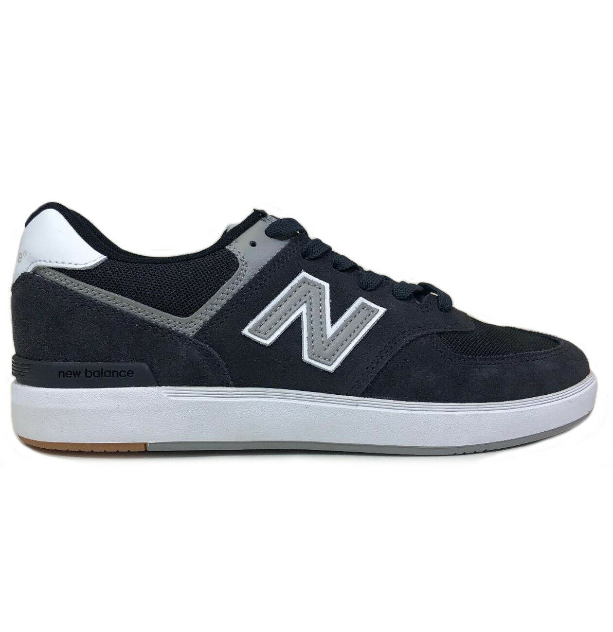 New Balance AM574 Navy Suede shoes