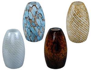1 replacement drop pendant light glass shade pick blue. Black Bedroom Furniture Sets. Home Design Ideas