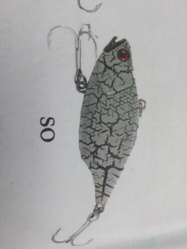 FISHING LURE KOKODA G VIBE Deep 45mm BASS Yellow Belly Jacks