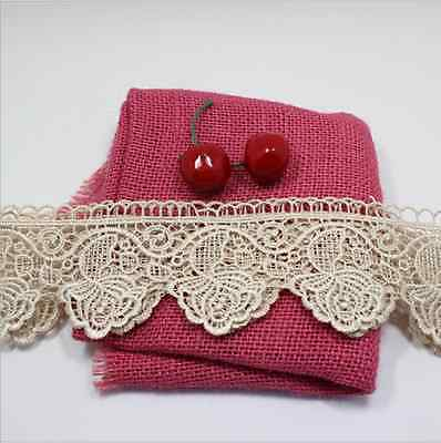 1 Yard Polyester Lace Trim Ribbon Embroidered DIY Sewing Craft Trimming FL80