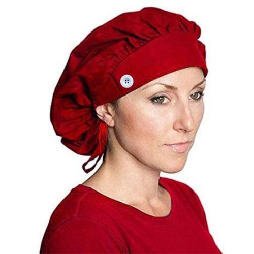Kochmütze Kochhut Elastische Kopfbedeckung Bistromütze Küchenarbeit Bäcker Hüte