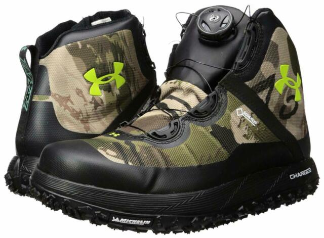 Under Armour UA Fat Tire GTX Hiking Hunting Boot Mens Camo Gore-Tex 8
