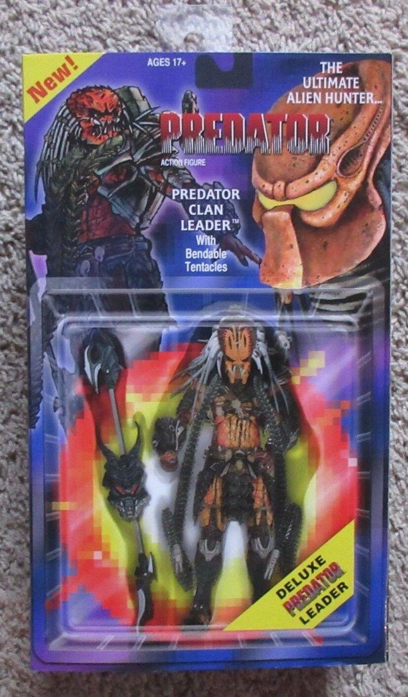 Clan Leader Deluxe Prougeator NECA RARE FIGURE 7  pouces leader