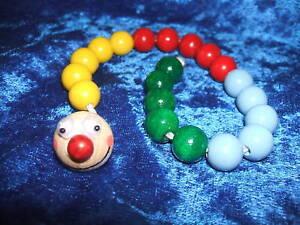 Rechenkette Zahlenraum bis 20 Rechnen Lernen Holz Wurm Regenbogen in 10 Farben