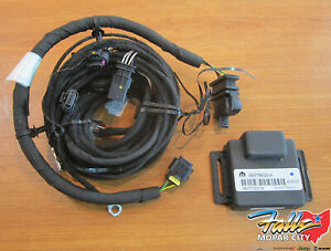 2017-2021 jeep compass trailer tow wiring harness new mopar oem | ebay  ebay