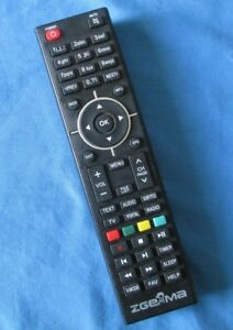 Details about Genuine Original ZGemma H7S SET TOP BOX Remote Control Tested  and Cleaned
