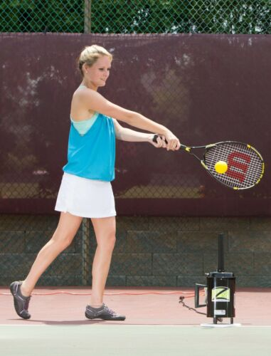 220V Hit Zone Deluxe Tennis Air Tee! Ball Floats In Mid-Air! Great Training Aid!