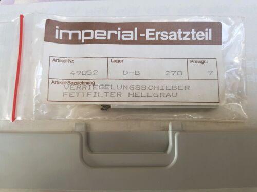 Imperial pezzo di ricambio dma64 BLOCCAGGIO CARRELLO METALLO-Filtro grassi schermo piatto