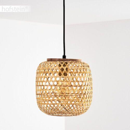 Vintage Hänge Leuchten Pendel Lampen Bambus Ess Wohn Schlaf Zimmer Beleuchtung