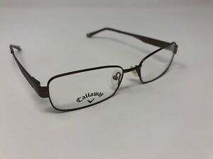 Callaway-Allenmore-Men-s-Glasses-Frames-Square-Brown-Full-Rim-Flex-53-17-140-A13