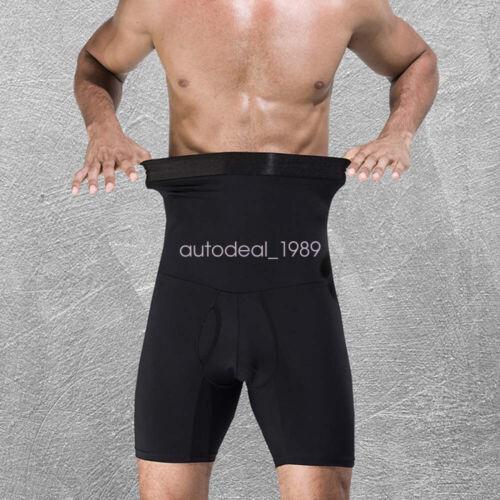 Hommes Body Shaper Abdomen Tummy Control Trimmer Shaping Underwear Boxer Briefs