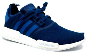 9822049a8 Adidas NMD R1 Mesh Mens Sneaker Unity Blue White S31502 Size 13.5