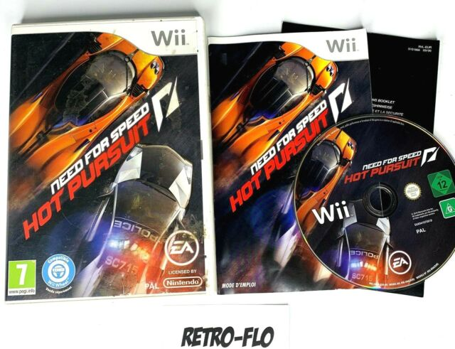 Need For Speed Hot Pursuit - Jeu Nintendo Wii Complet - PAL