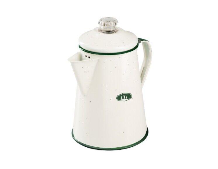 GSI cremeweiss Outdoors - Kaffeekanne mit Perkolatoreinsatz 1,9 L, cremeweiss GSI 3631f2
