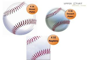Baseball-Party-Pack-64-Piece-16-Person-Pack-Party-Supplies-FREE-DELIVERY