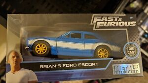 JADA  FAST AND FURIOUS BRIANS FORD ESCORT RS1600 1//32 SCALE  JADA TOYS  MINT