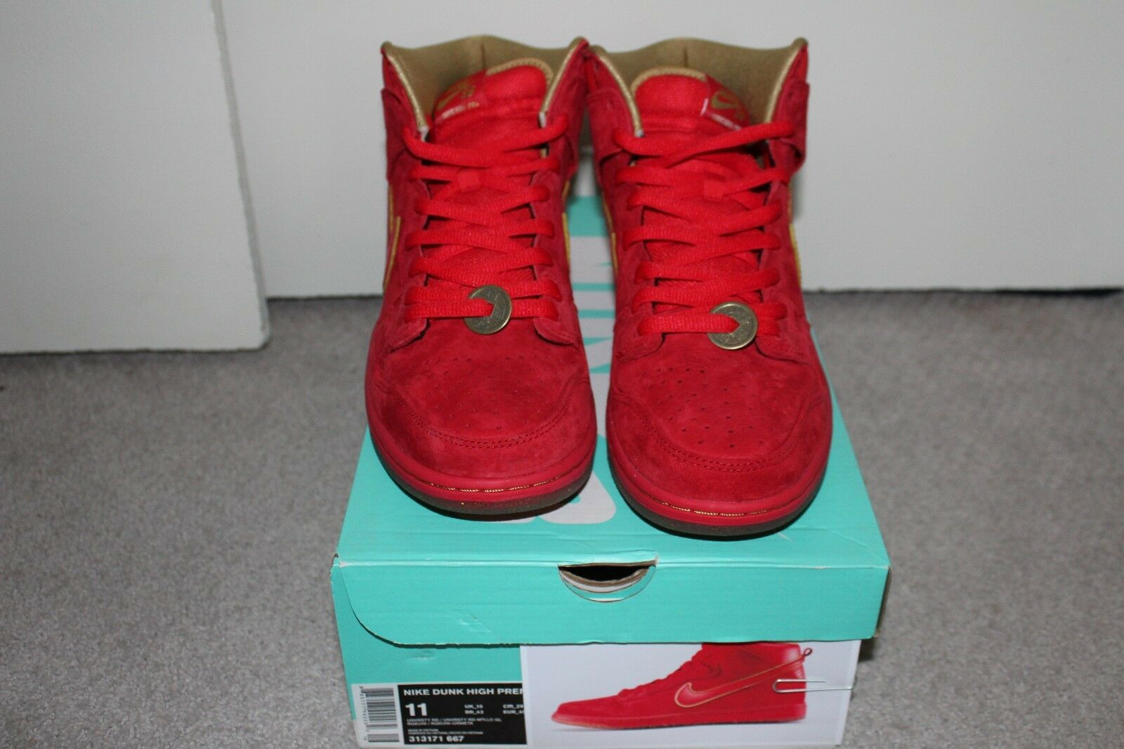 Nike Dunk High Premium SB YOTH Size 11 Deadstock DS Year of the horse