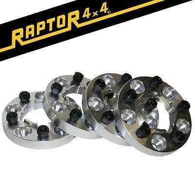 Negro Raptor Hubcentric 40mm Aluminio Range Rover Classic Rueda Espaciadores RRC
