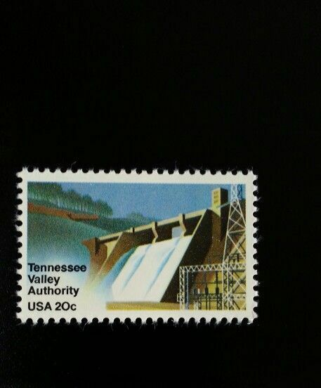 1983 20c Tennessee Valley Authority, Electricity Scott