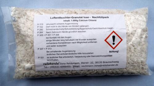 1,65€//kg 20x 1kg lose Luftentfeuchter Granulat Flakes für Raumentfeuchter