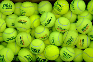 30-Used-tennis-balls-Excellent-condition-Mixed-brands