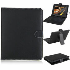 """7"""" PU Leather Micro USB Folding Stand Case Cover With Keyboard For Android"""