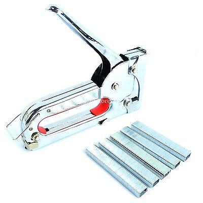 Hyfive - Staple Gun - Fabric Upholstery Tacker - 1000 Staples Included