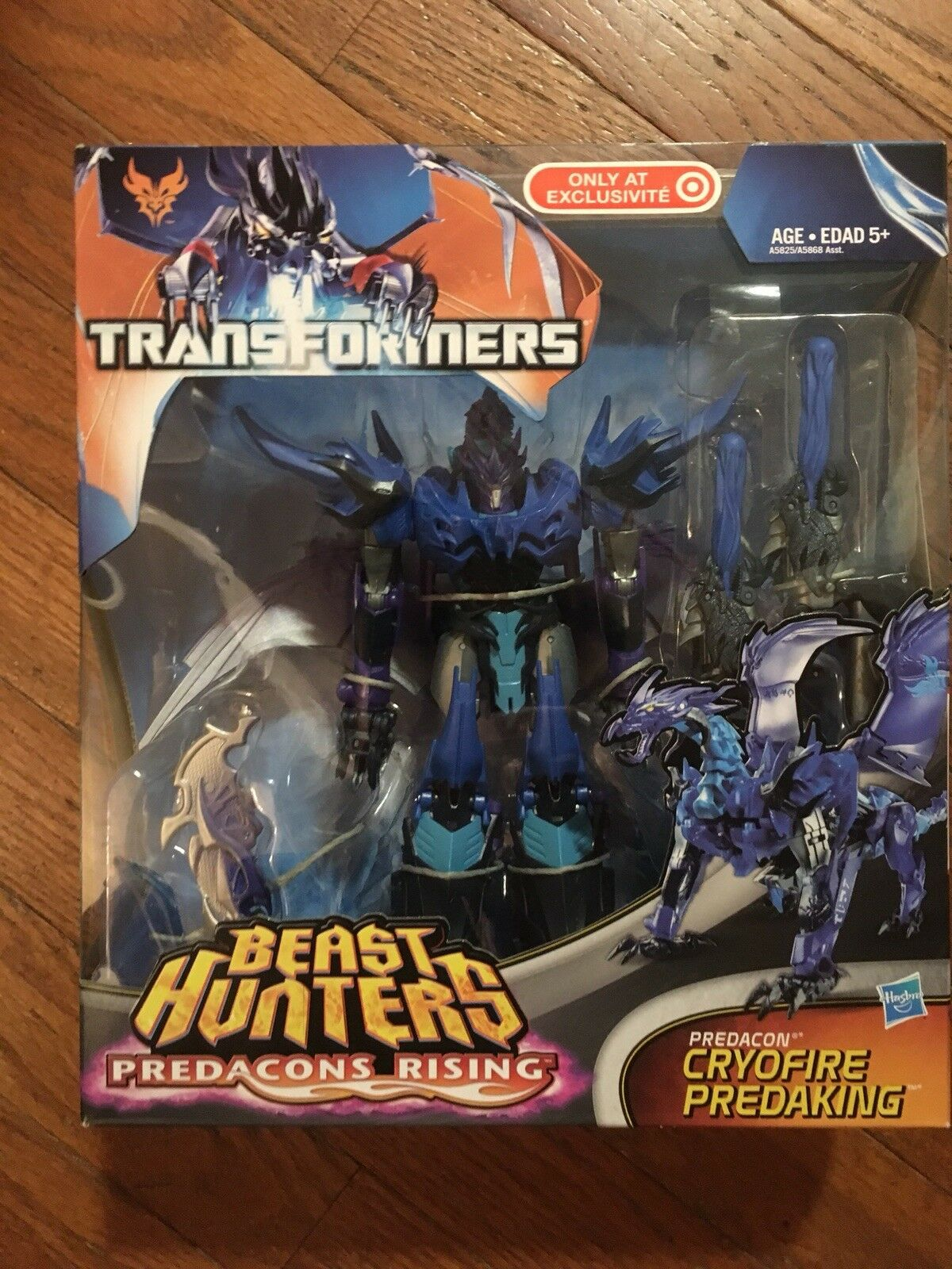 Transformers Prime Beast Hunters Cryofire ProtAKING Target Exclusive